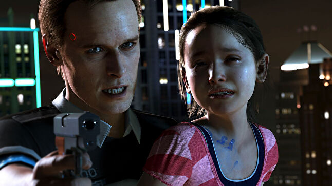 Cage claims Detroit: Become Human is the most complex game he has written to date. The script took him two years to complete, a task he took on himself