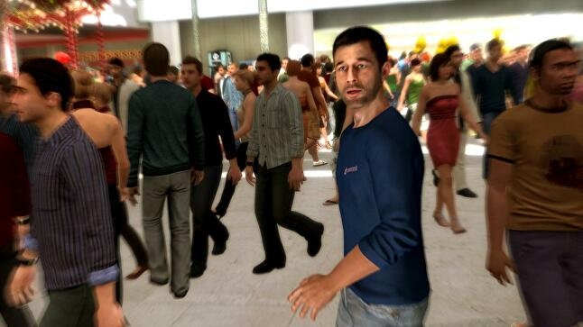 Heavy Rain's famous mall scene - and indeed the game - was inspired by Cage's own experience of nearly losing his child.