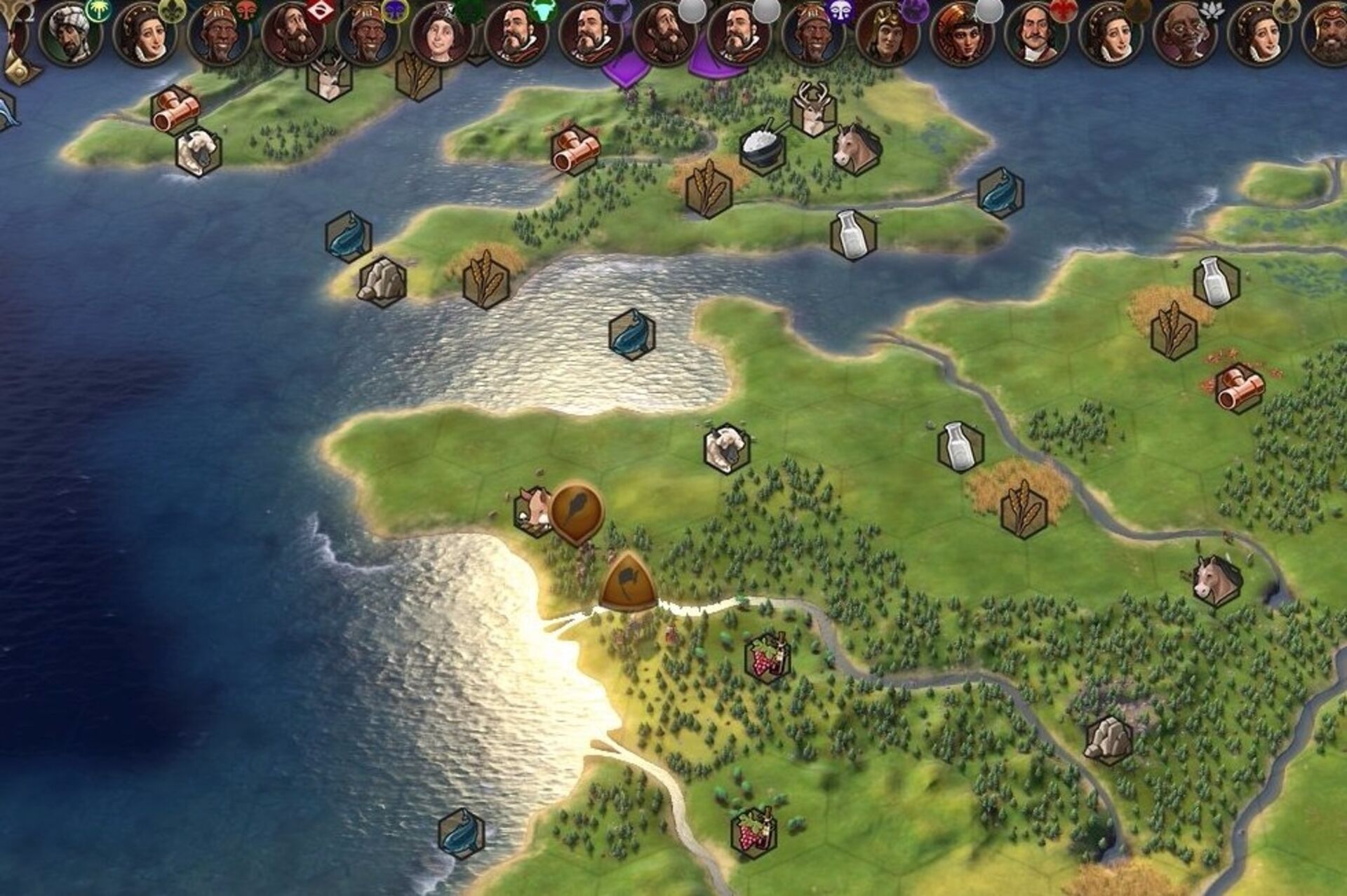 Now Civilization 6 has an Earth map mod but it's Ludicrously big