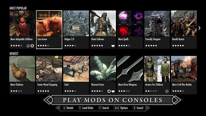 Skyrim Mods On Ps4 Xbox One Pc How To Install Mods In