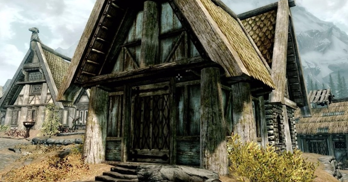 Skyrim How To Decorate The House You Build