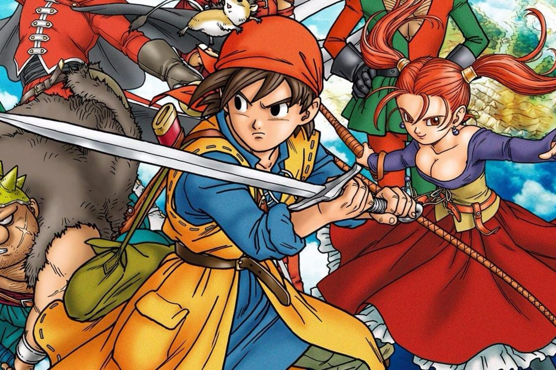 Dragon Quest 8 3DS remake out January 2017 • Eurogamer net