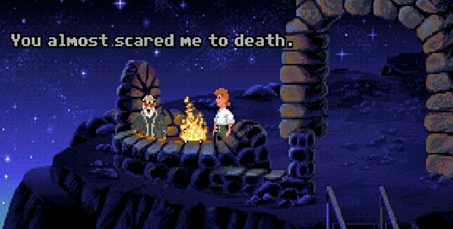 Disney currently owns the Monkey Island IP and Gilbert wants it back