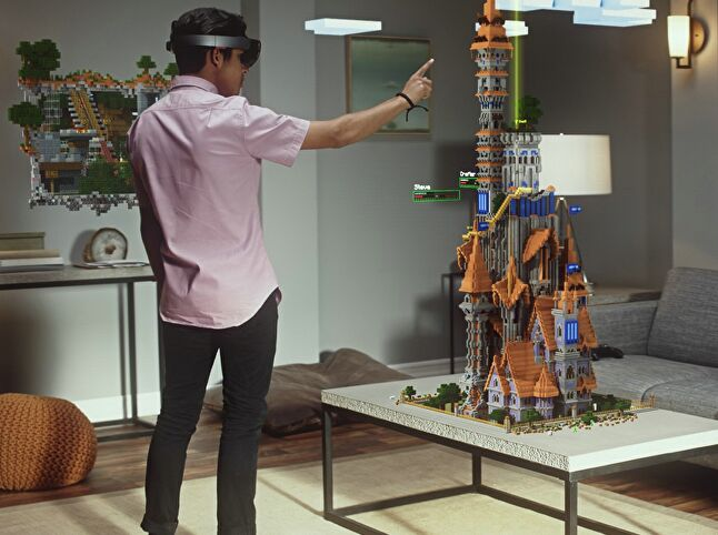 The HoloLens Minecraft demo at E3 2015 was viewed by millions