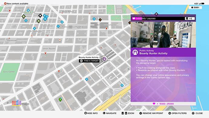 Watch Dogs  Finding Key Data Locations