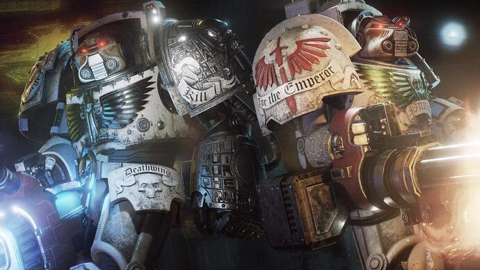 The promising-looking Space Hulk: Deathwing just got a 17 minute gameplayvideo