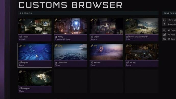 Halo 5 update finally adds custom game browser