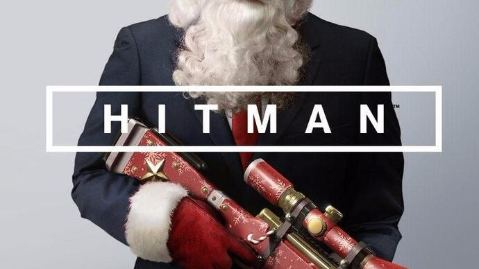 Watch: Festive Hitman gameplay and a sack full of prizes in the Eurogamer Christmasstream