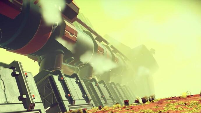 No Man's Sky patch adds epic space battles