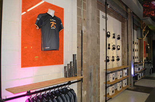 The Fnatic team shirt is the organisation's biggest seller, a sign of how comparable eSports' following is to that of football