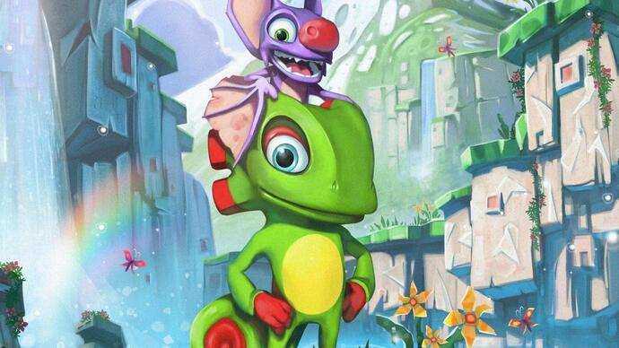 Watch: Yooka-Laylee is a blast of nostalgia in Xbox One gameplay