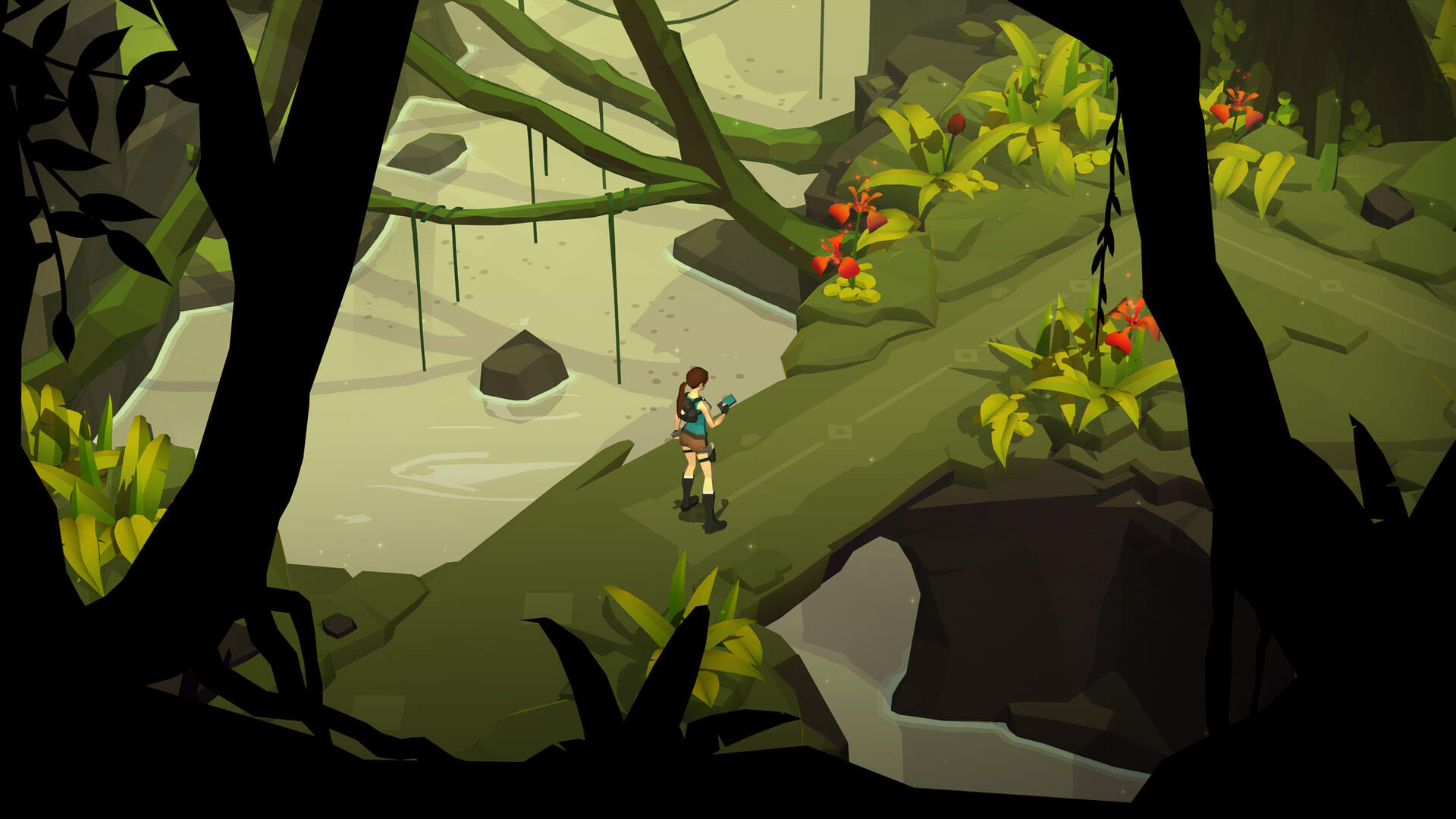 Lara Croft GO iOS Review: Pretty, Brilliant Puzzling