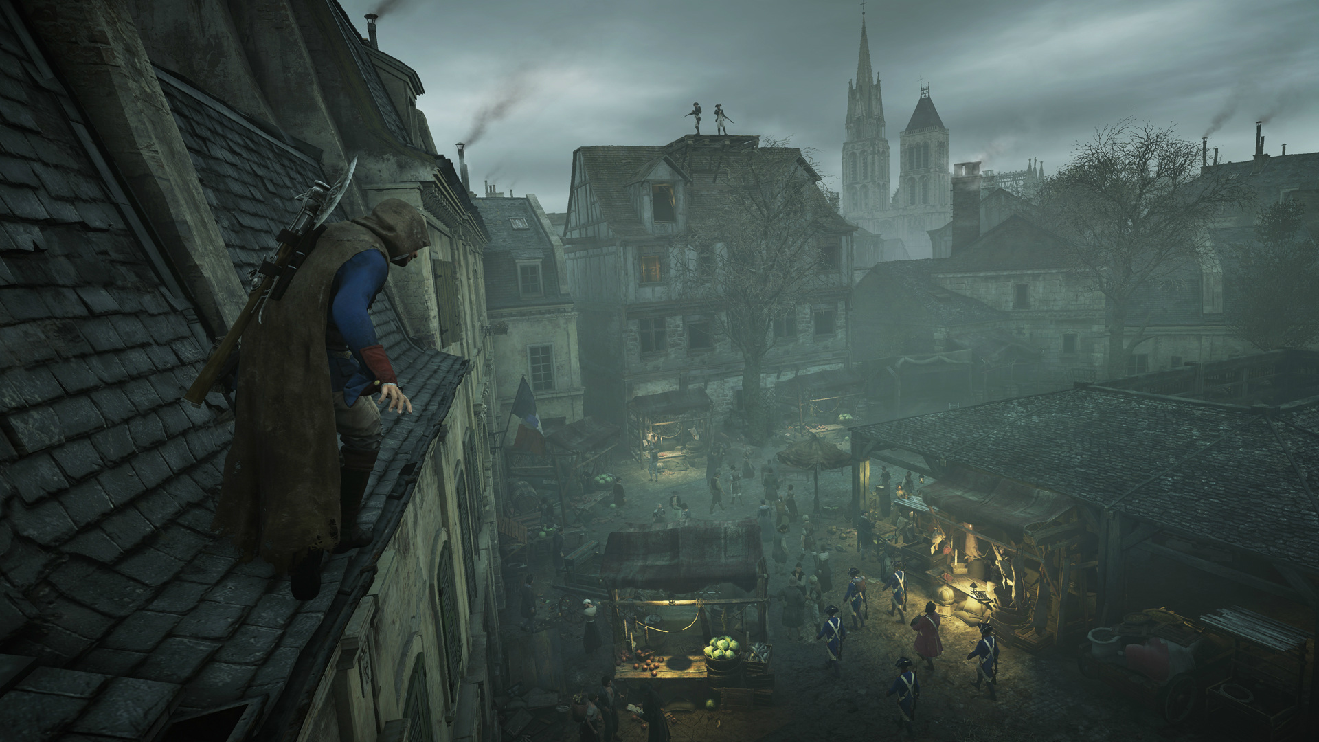 Assassin S Creed Unity Dead Kings Xbox One Review Alone In The