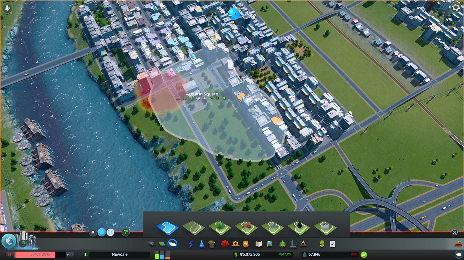 how to raise road in cities skylines
