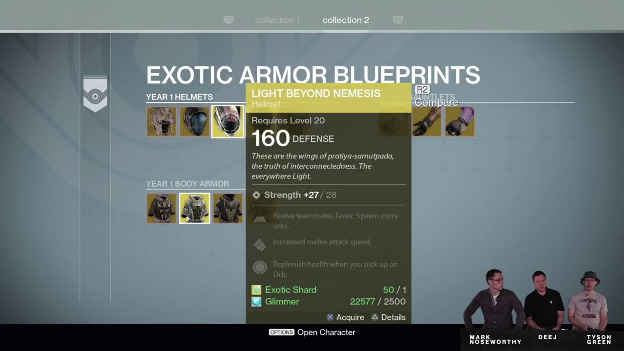 Destiny gets overhauled with the taken king usgamer gear inventory exotics malvernweather Image collections