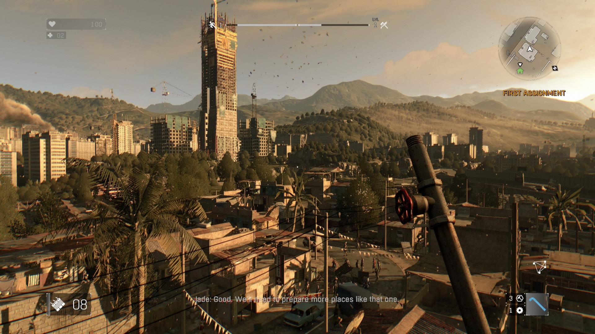 Dying Light Ps4 Review Stumbling On The Roof Tops Usgamer