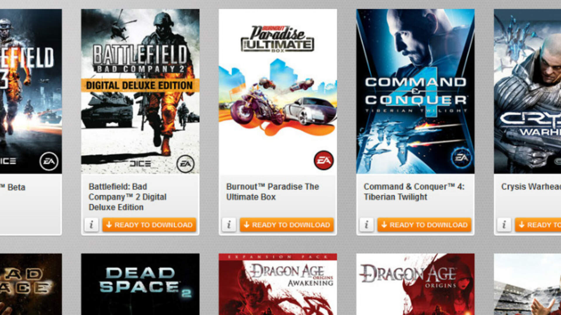 EA's Origin: When There's No Value, You Forget It Exists