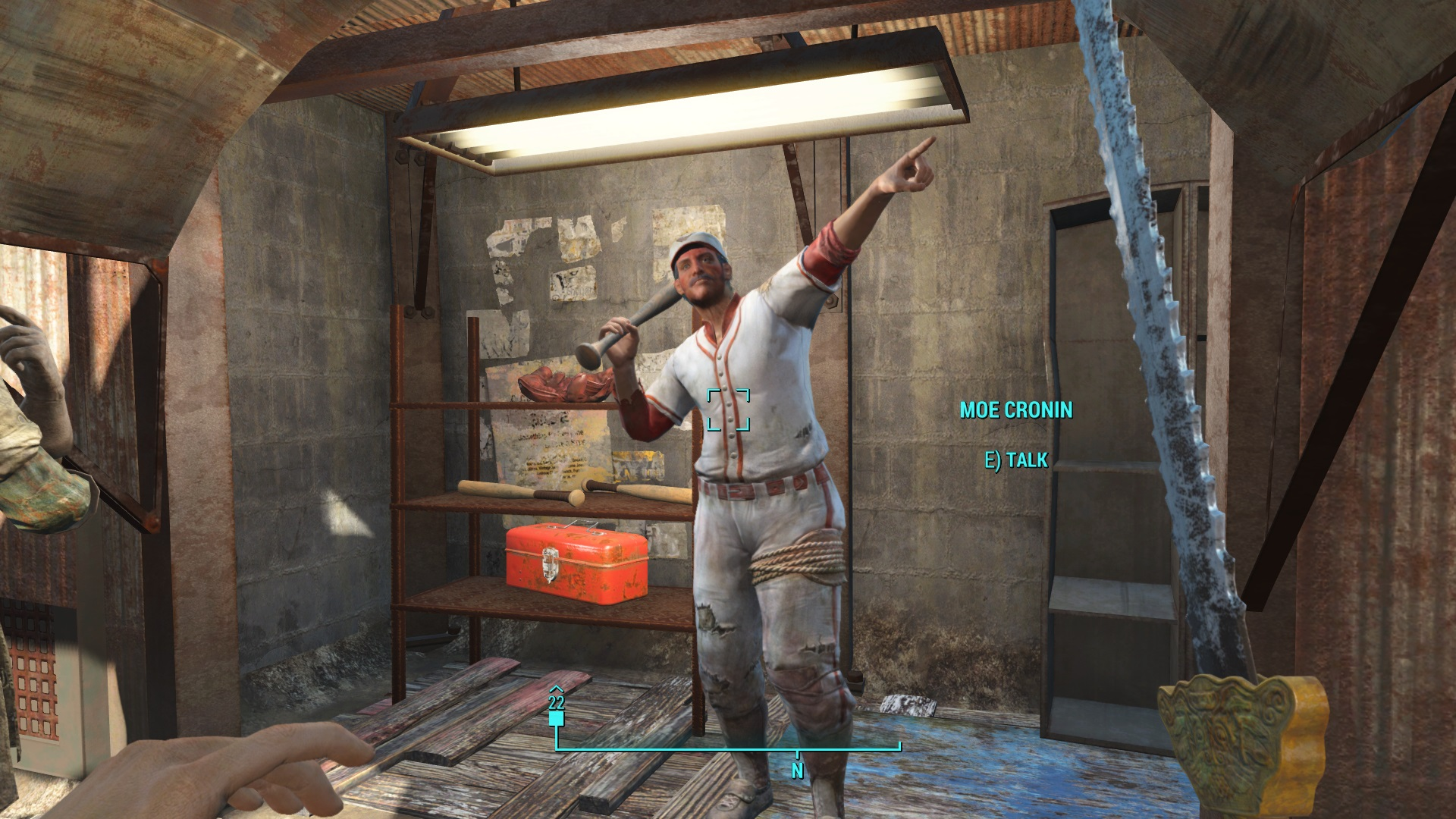 Radition Melee Build Fallout