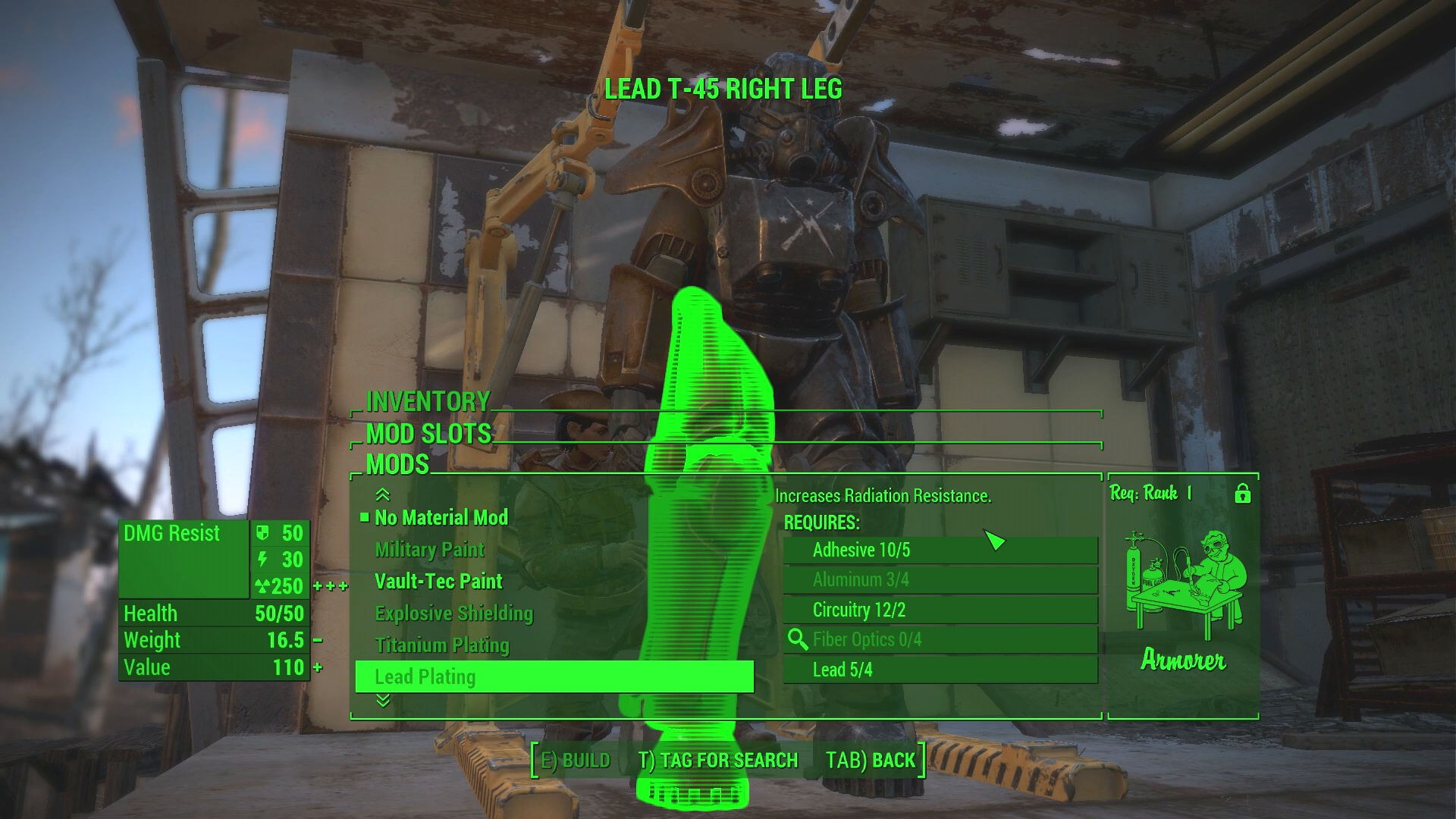 Fallout 4: Power Armor Guide - Fusion Cores, Mods, Repairs