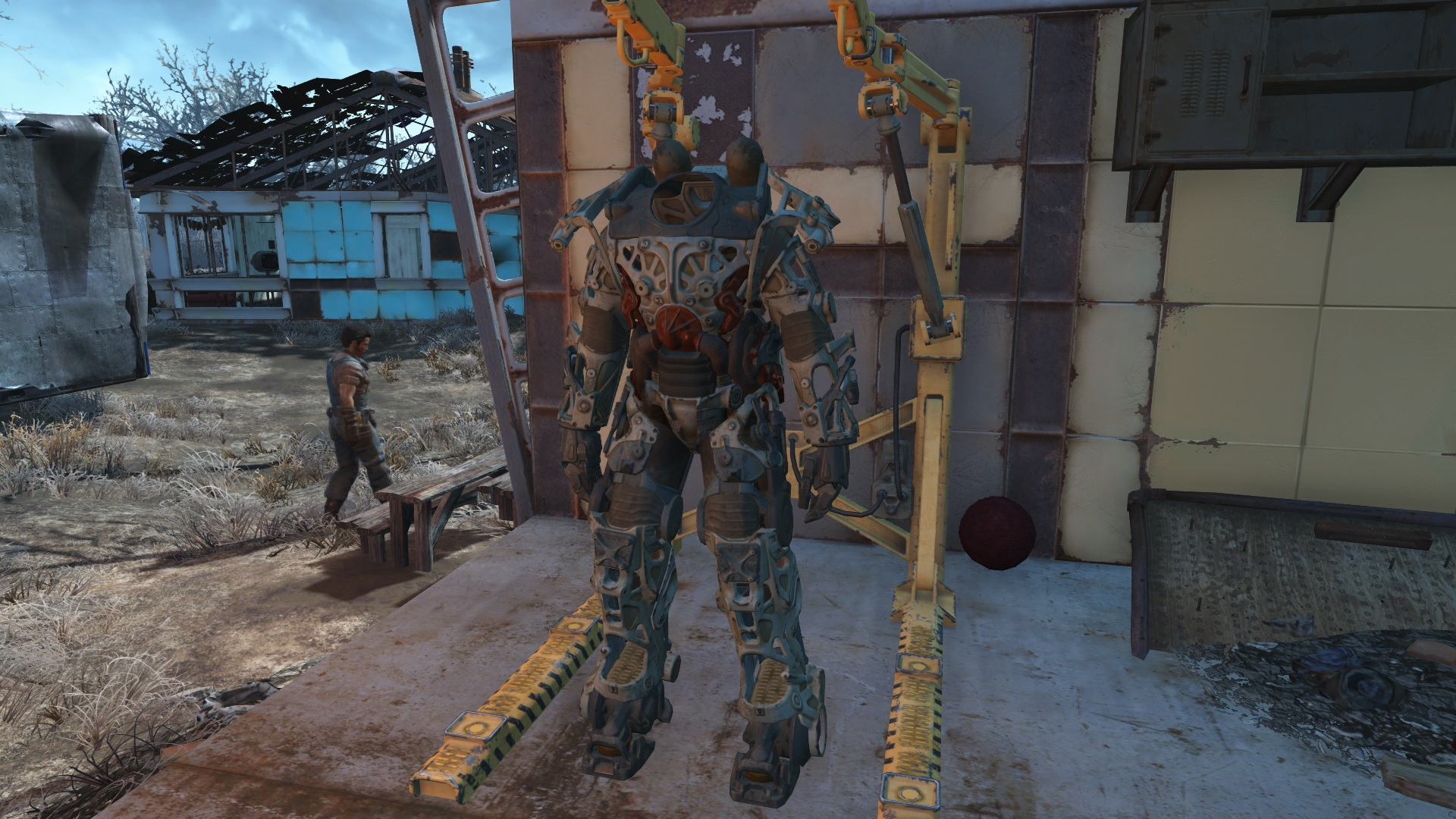 fallout 4 power armor guide fusion cores mods repairs usgamer