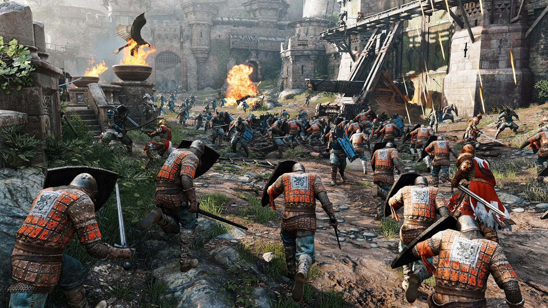 For Honor's Multiplayer is Brutal, Bone-Crunching, and Brilliant