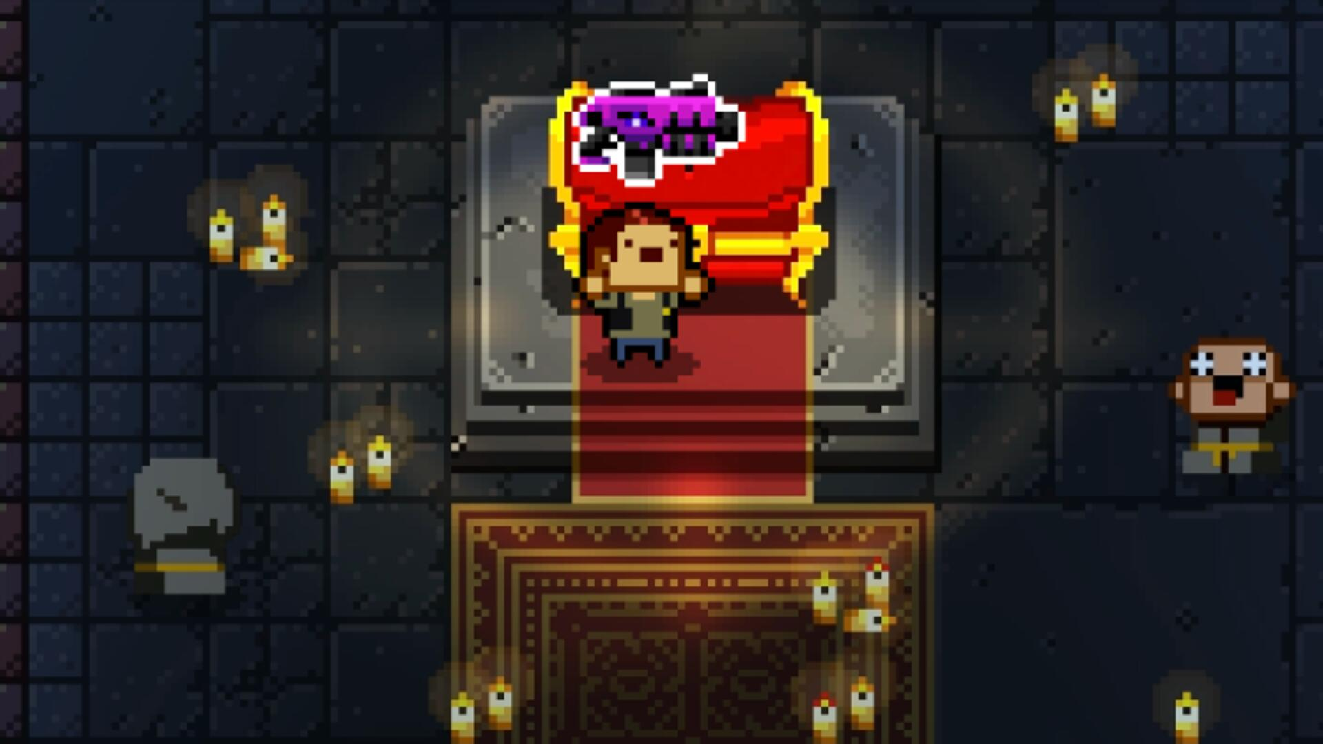 Enter the Gungeon: Shoot Your Past in the Face