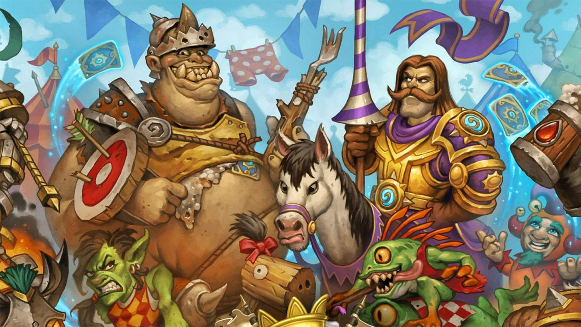 Hearthstone's Tavern Brawl Gives you a Taste of The Grand Tournament