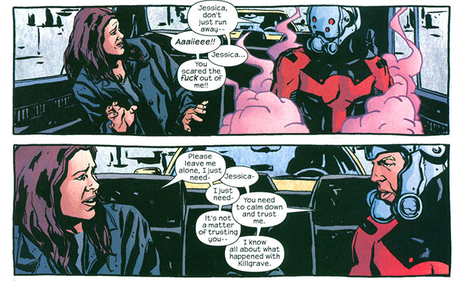 Image result for scott lang jessica jones