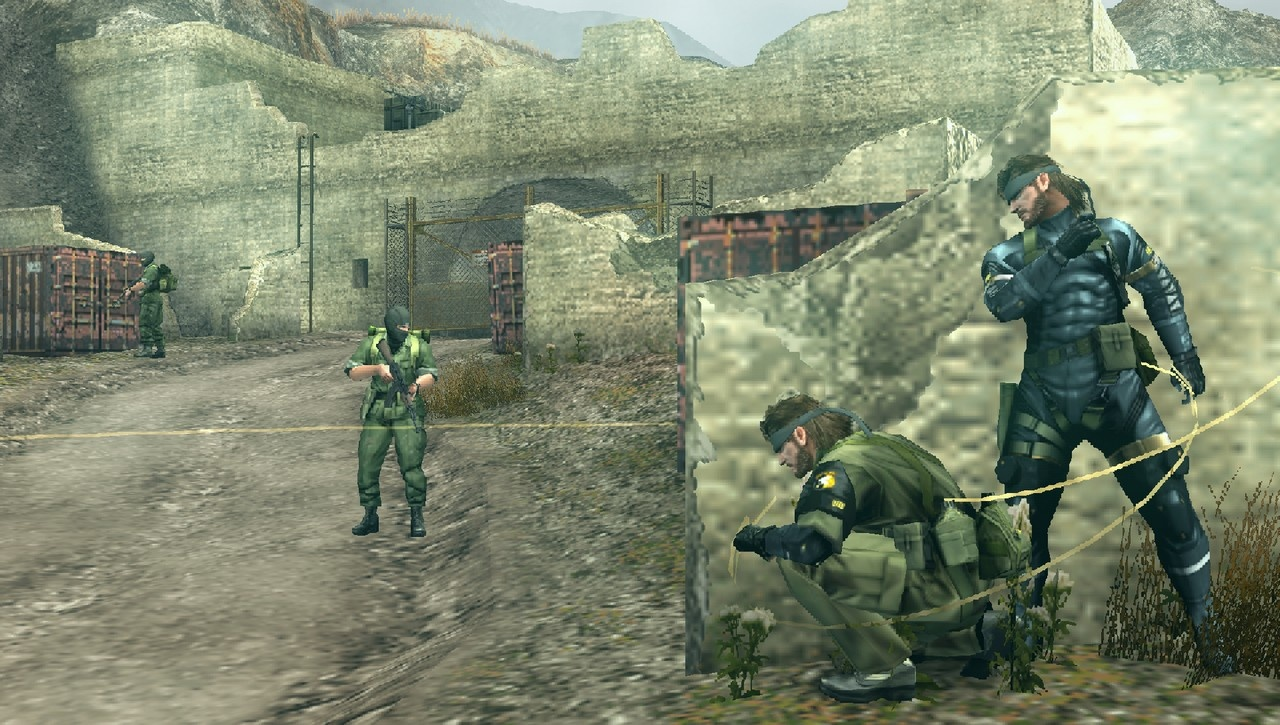 metal gear online 3 unlocks