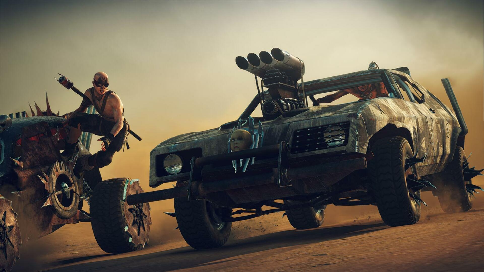 Mad Max, Trackmania Race Into April's Free PS Plus Games