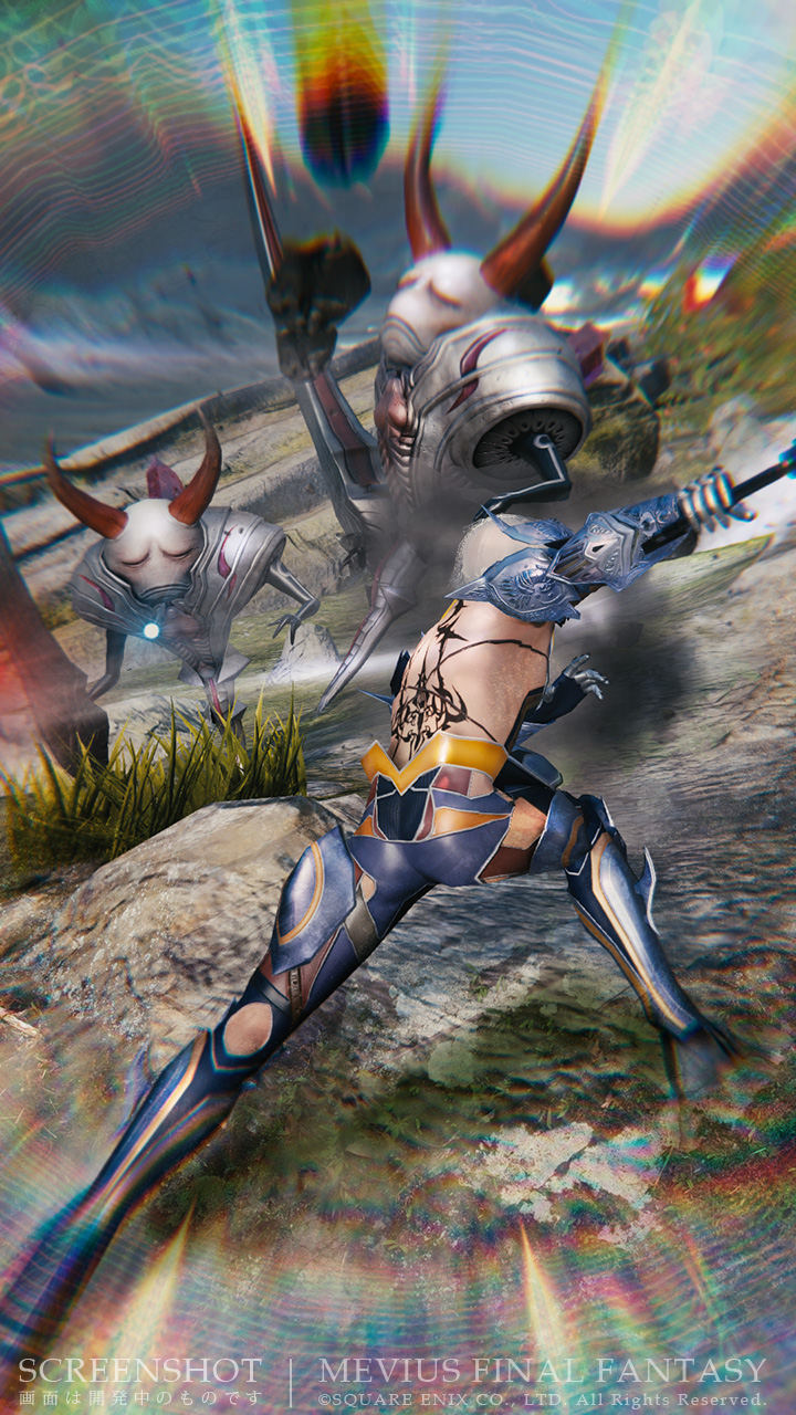 Mevius Final Fantasy: Fighting Monsters in Your Armored ...