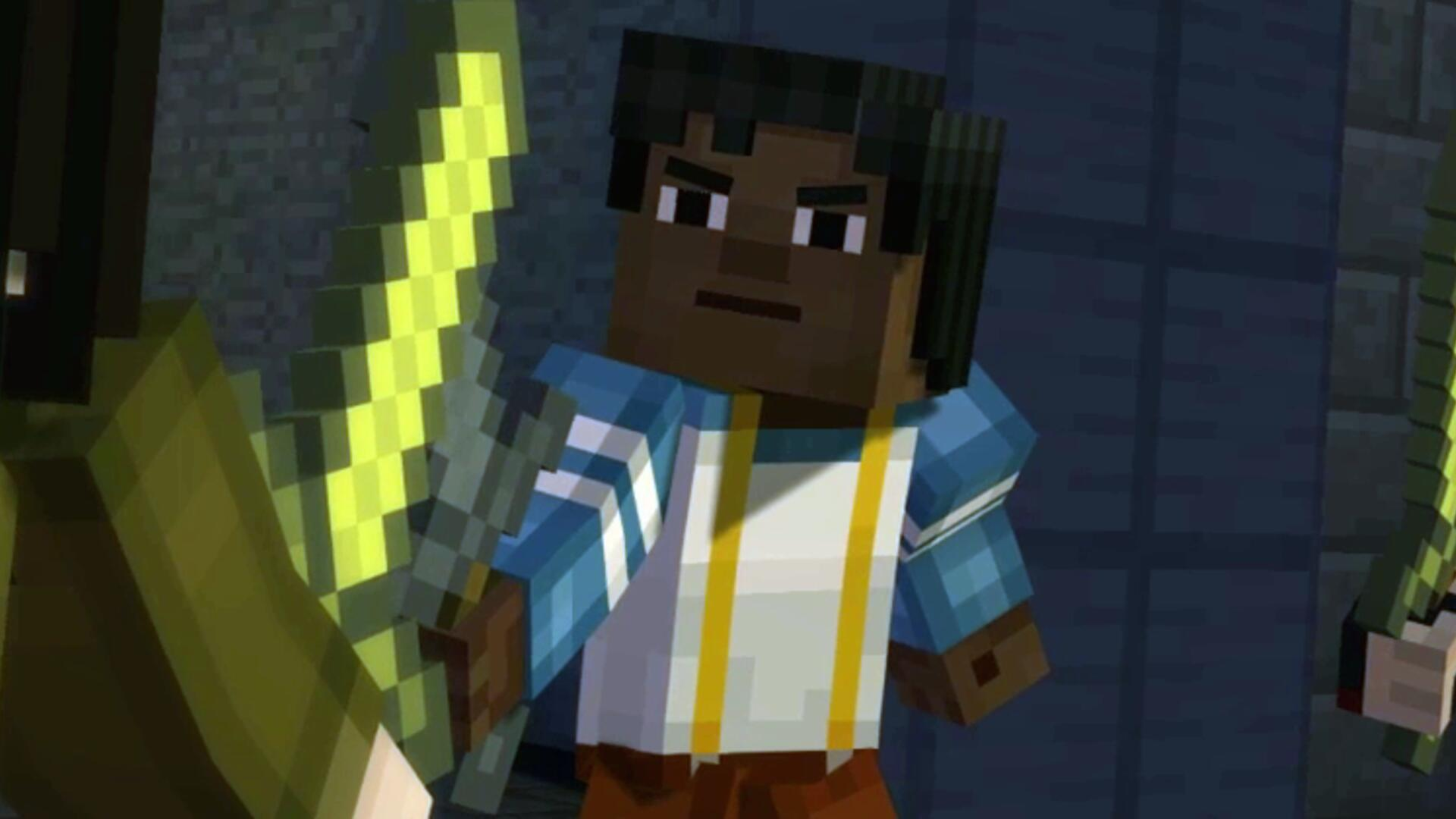 Minecraft Story Mode, Episode 2 PC Review: Press 'Q' to