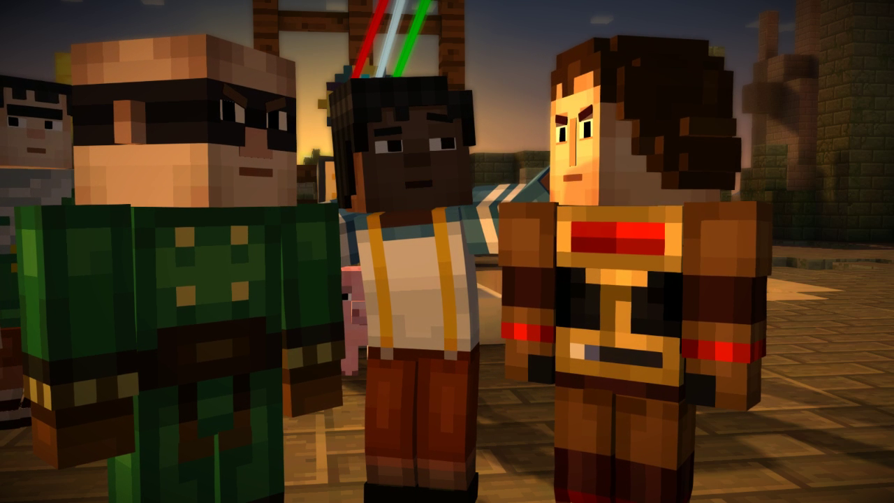 Minecraft Story Mode Episode 2 Pc Review Press Q To Progress