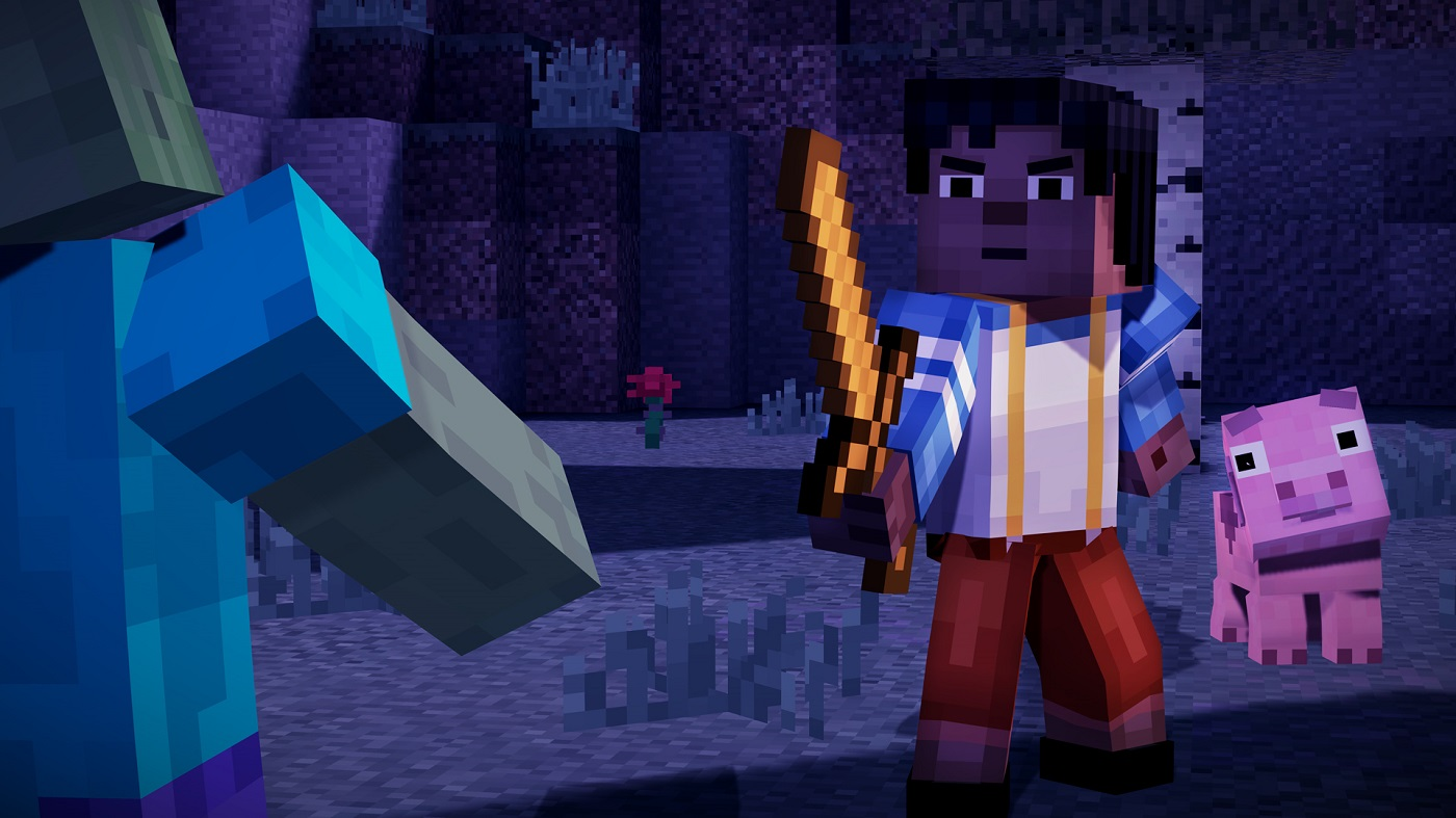 Minecraft Story Mode, Episode 1 PC Review: Crafting a New Canon