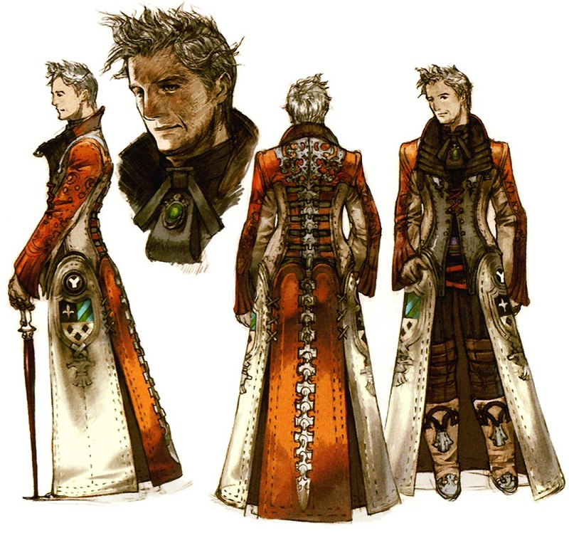 Character Design Final Fantasy Xii : A voice for ivalice the localization and acting of