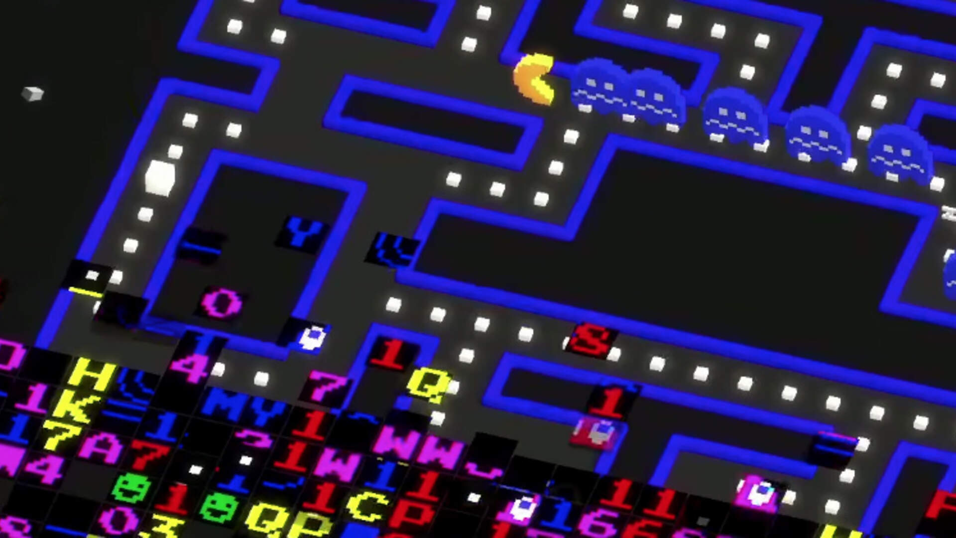 Pac-Man 256 Turns a Glitch Into Gameplay