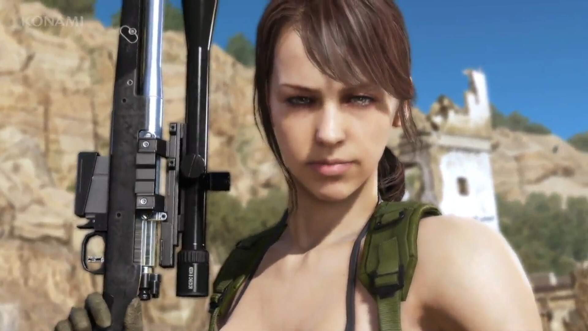 You Can Now Play as Quiet in Metal Gear Solid 5