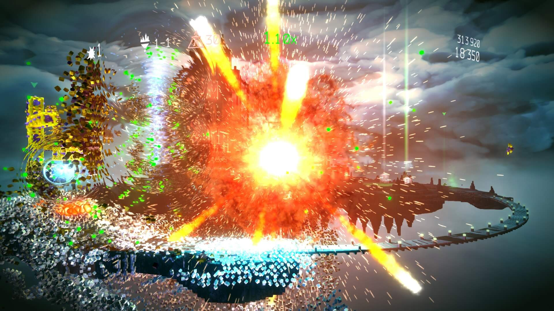 Resogun: Defenders PS4 Review: Icing on the Cake