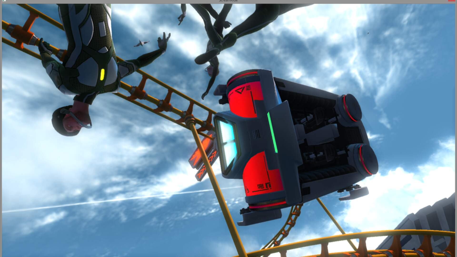 Screamride Preview: Roller Coasters, Puzzles and Plenty of Destruction