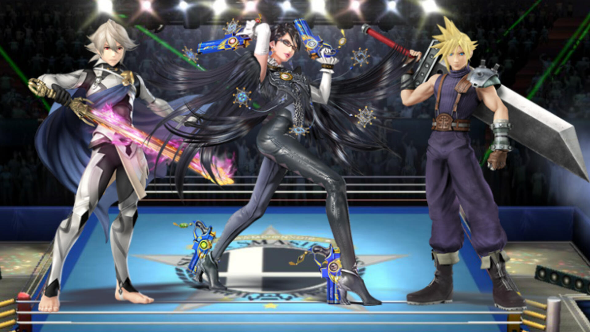 Bayonetta and Fire Emblem Fates' Kamui Confirmed for Super Smash Bros