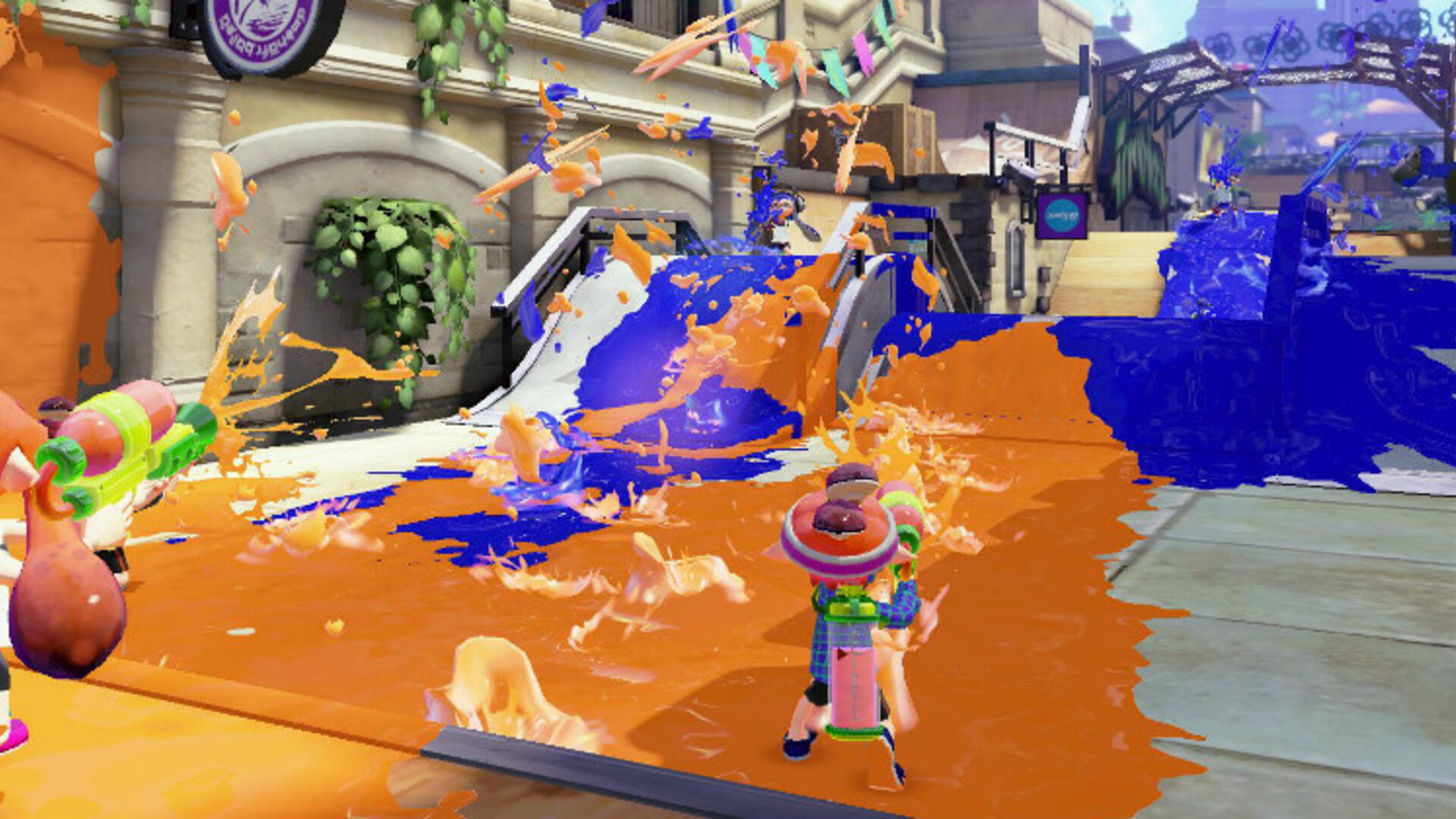 Splatoon Wii U Review: New Squids On The Block | USgamer