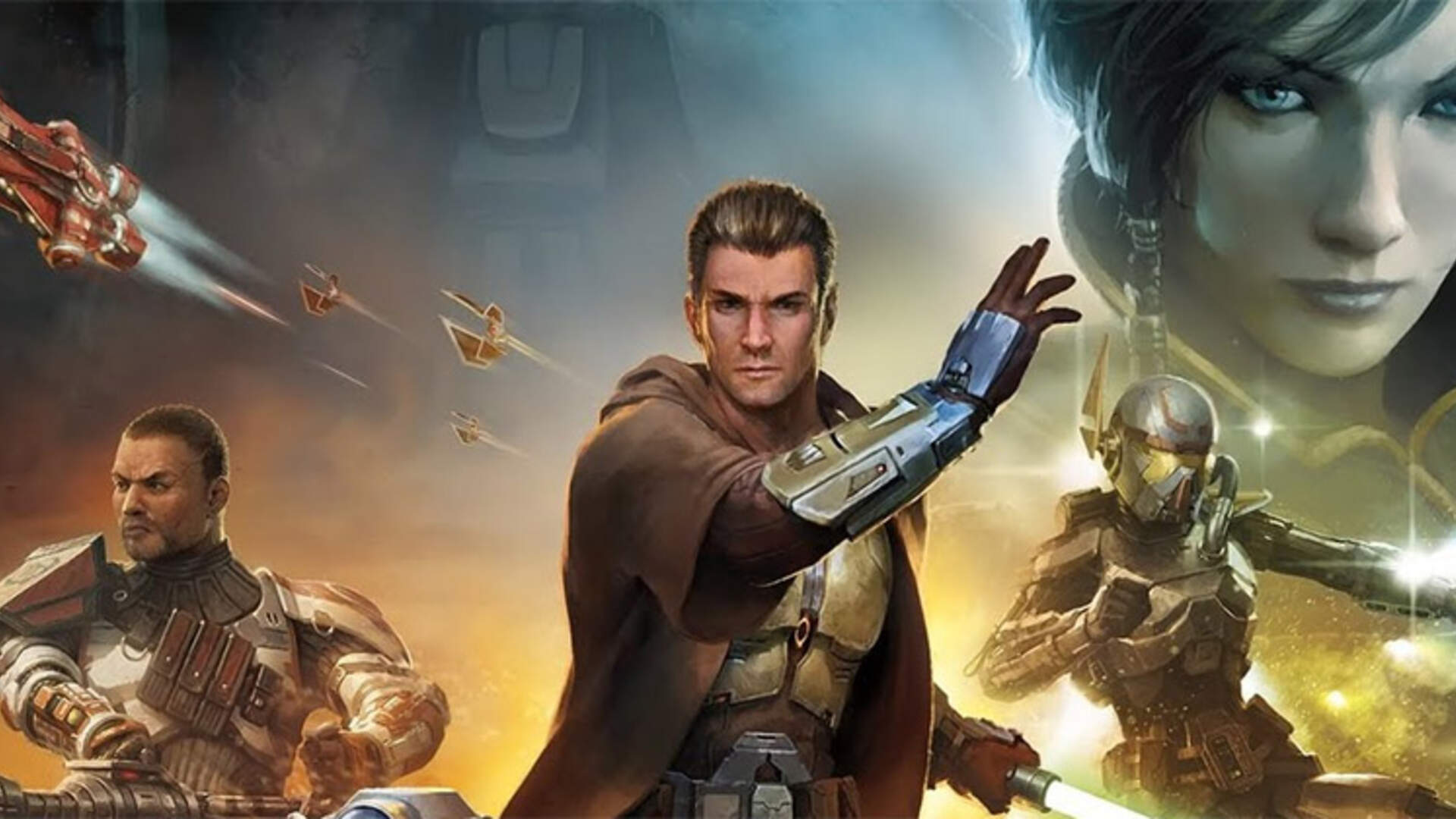 Bioware S Twin Comebacks The Future Of Mass Effect And The Return Of Star Wars The Old Republic Usgamer