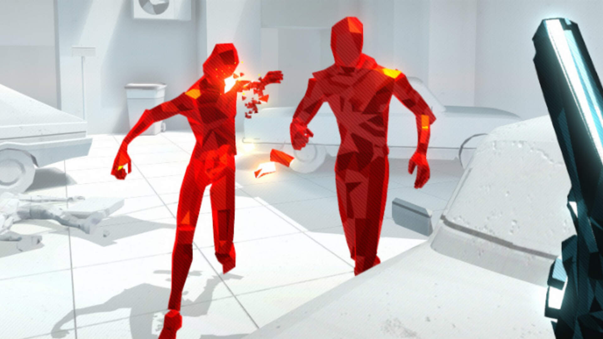 Superhot Preview: Time Moves When You Move