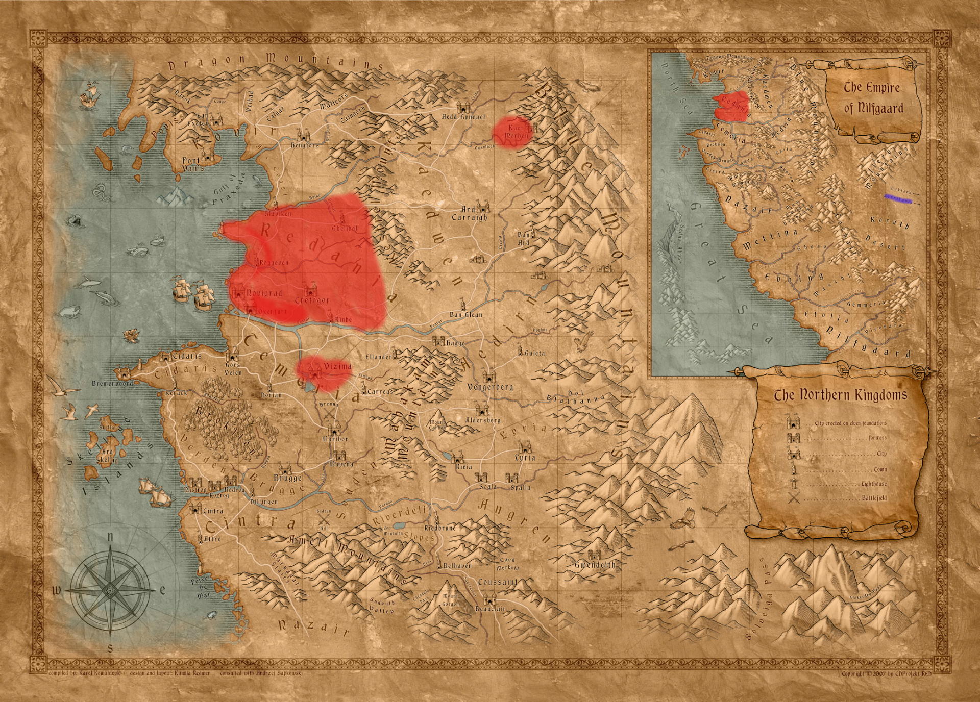 On the witcher 3 race and fantasy homages usgamer solutioingenieria Gallery