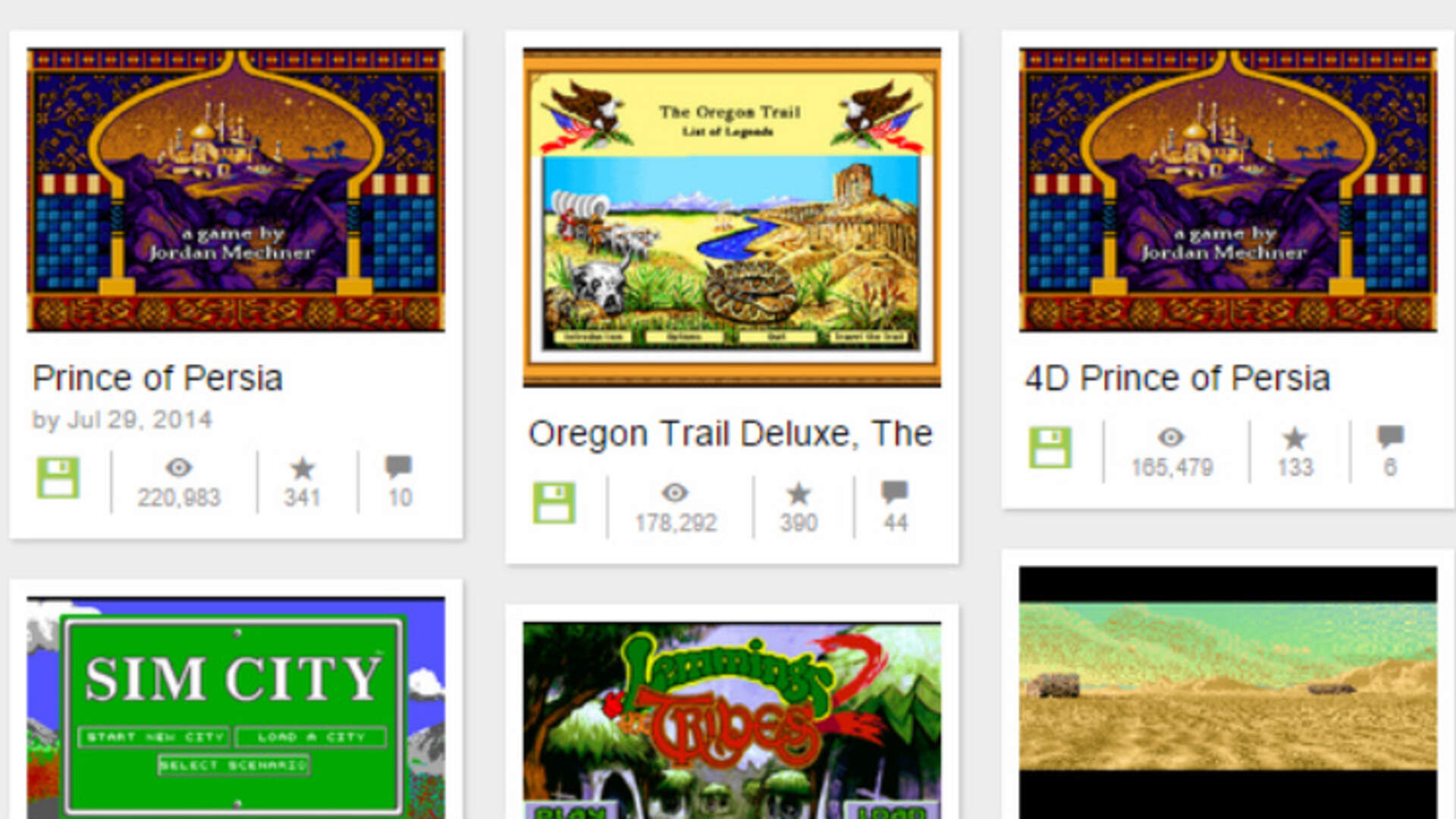 The Worst Games on The Internet Archive