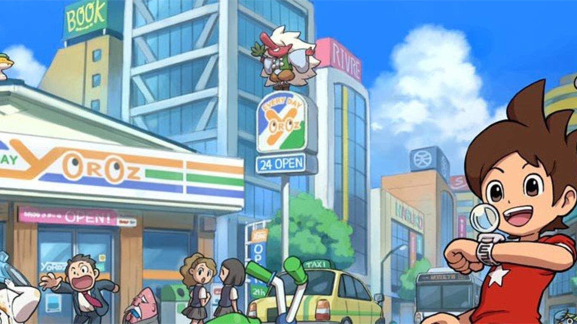 A Yo-Kai Watch Demo Hits the 3DS eShop on October 22nd