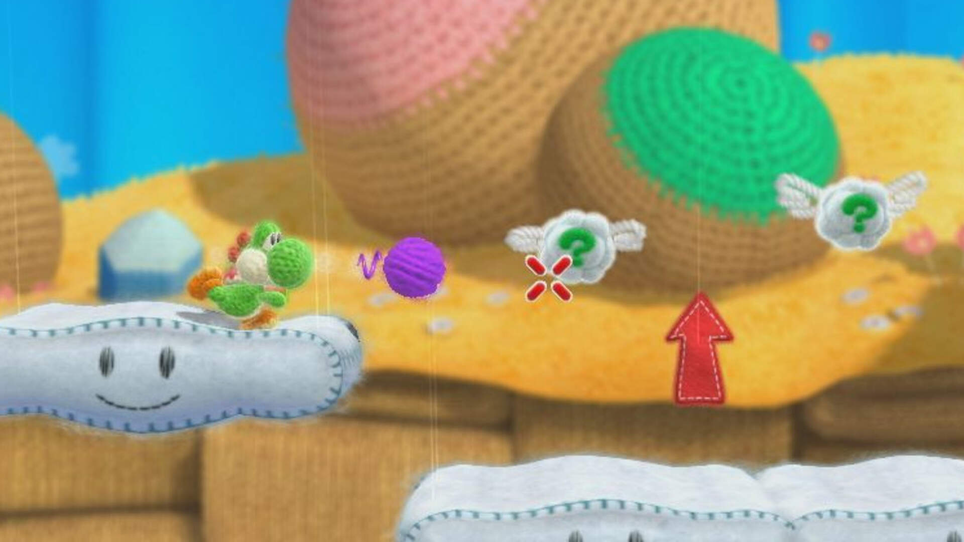 Yoshi's Woolly World Wii U Review: Pull the String