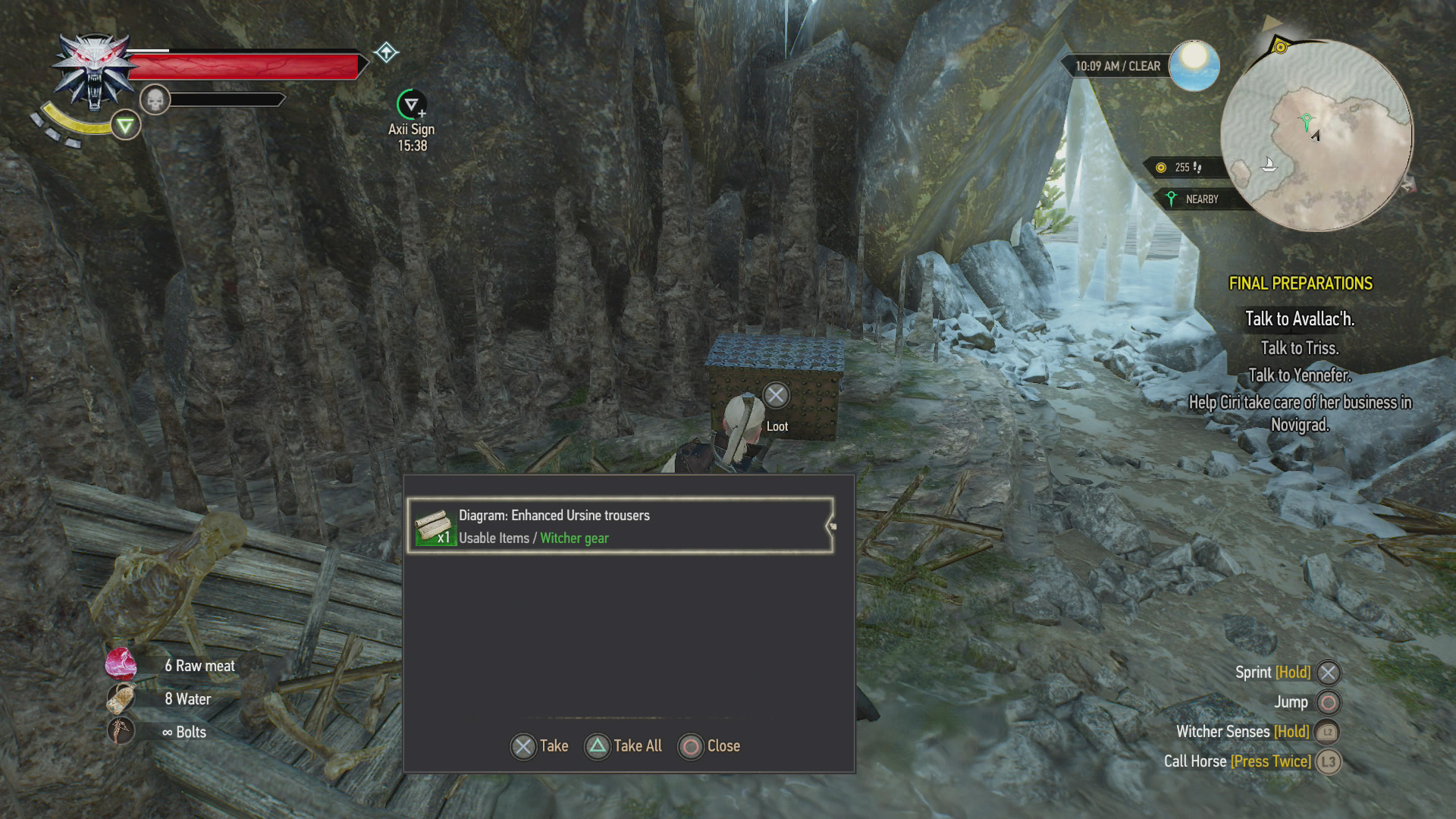 The Witcher 3 - Where to Find Bear and Ursine School Gear