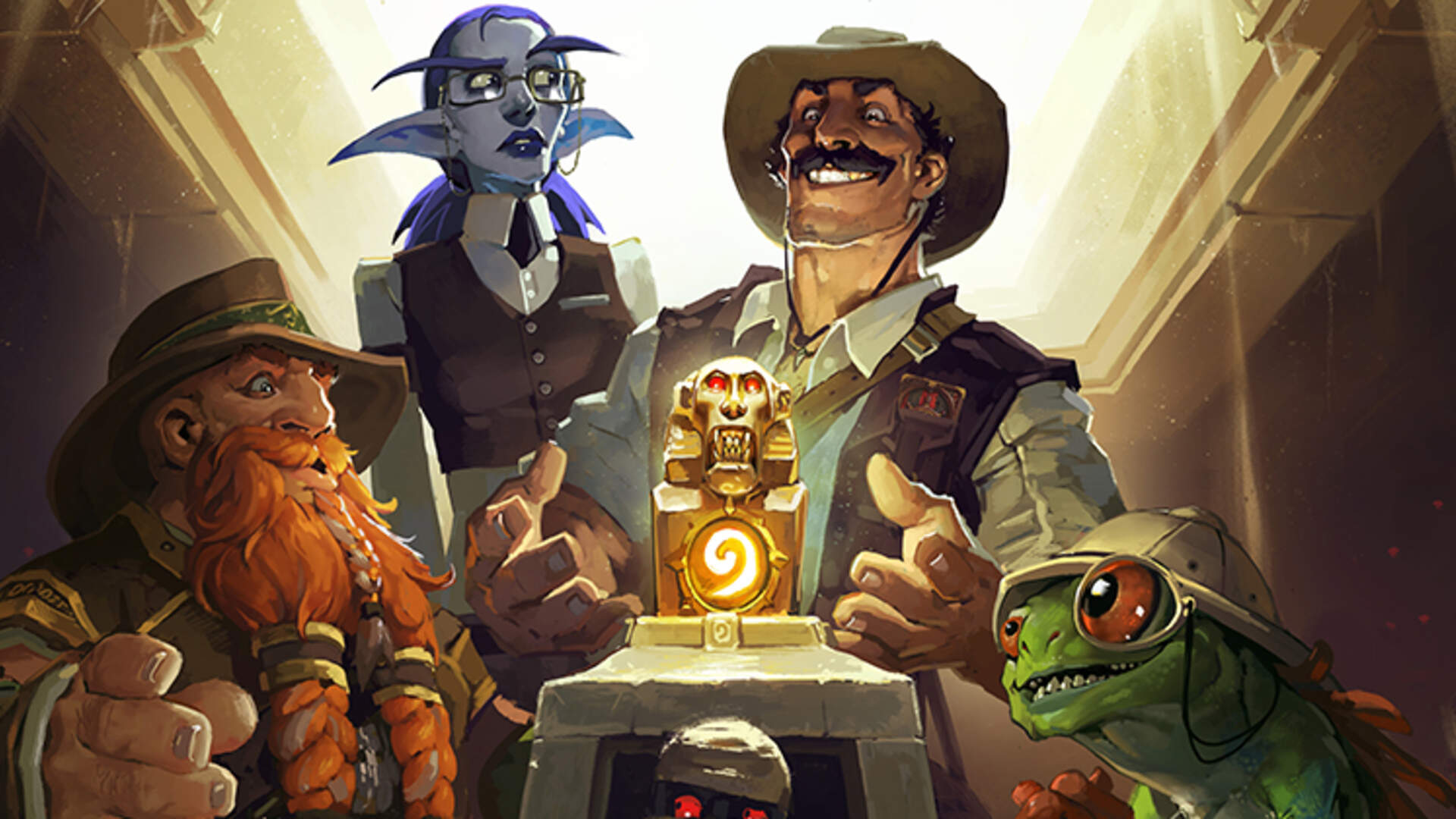 A New Hearthstone Adventure is Coming: The League of Explorers
