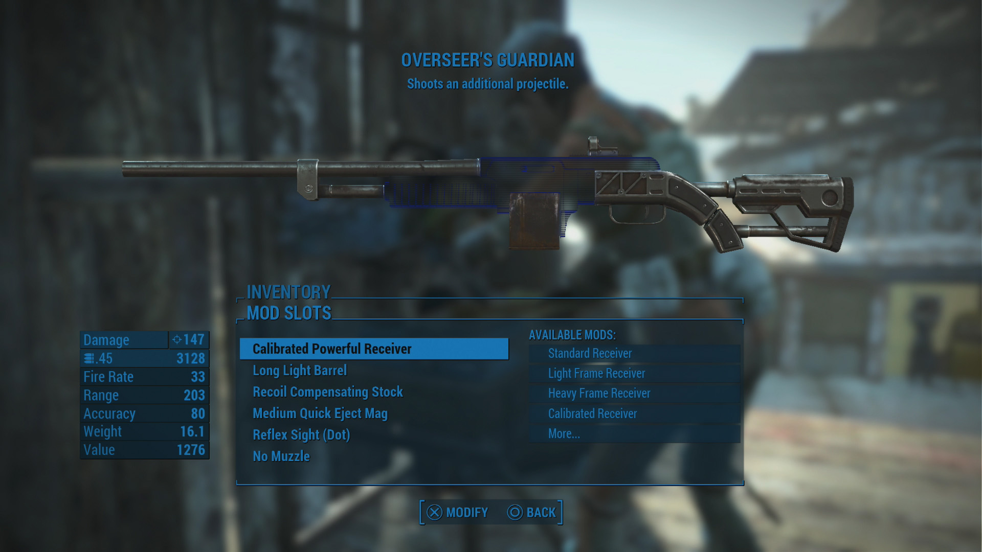 The Best Weapon in Fallout 4 - How to get Overseer's Guardian | USgamer